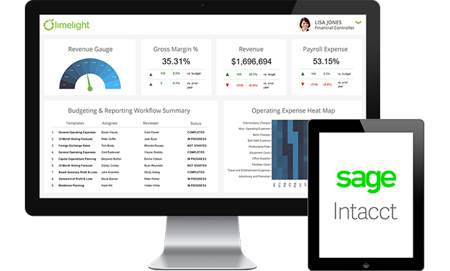 Sage Intacct and Limelight